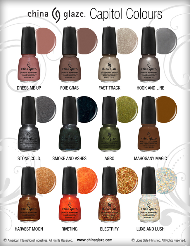 My Unofficial Nail Polish of The Hunger Games District 12 ...