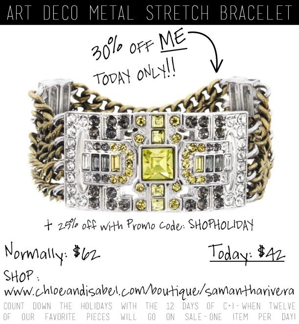 deco bracelet promo