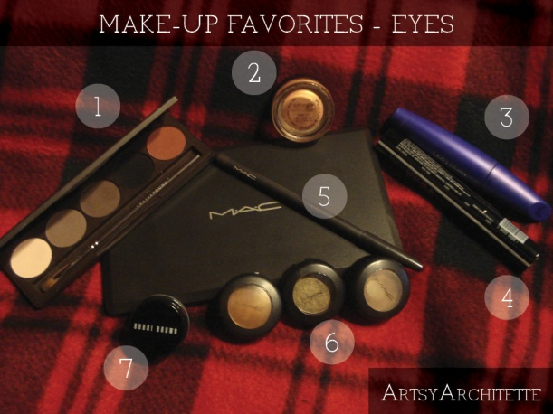 artsyarchitette 2012 beauty favorites make-up