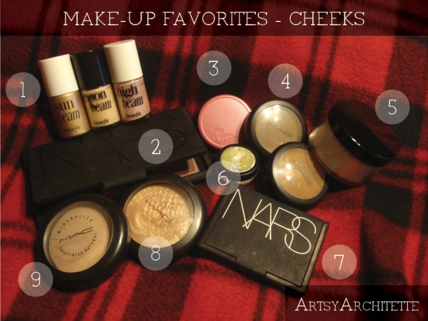 artsyarchitette 2012 beauty favorites make-up3