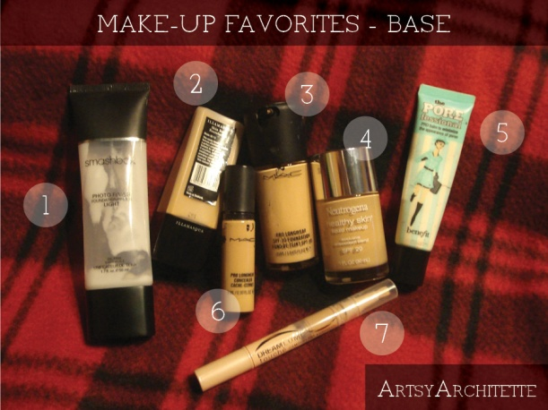 artsyarchitette 2012 beauty favorites make-up5