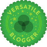 3 Time Versatile Blogger Award
