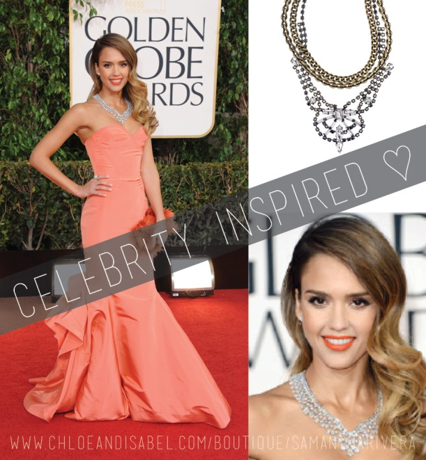 ArtsyArchitette celebrity inspired looks Style golden globes jessica alba