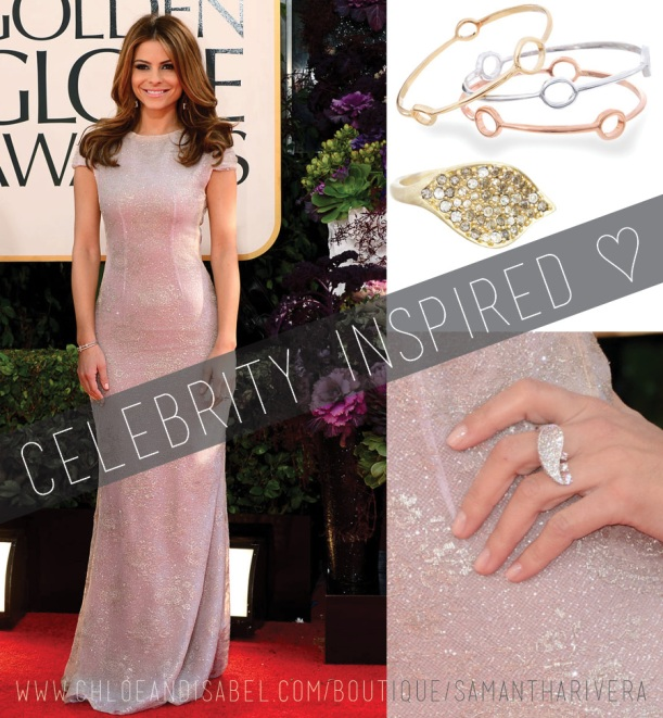 ArtsyArchitette celebrity inspired looks Style golden globes maria menounos