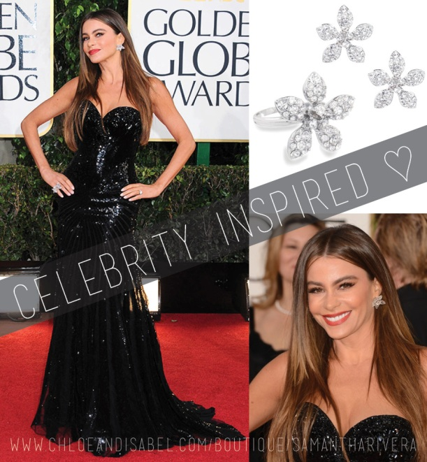 ArtsyArchitette celebrity inspired looks Style golden globes sofia vergara