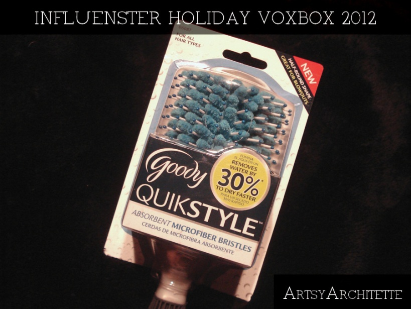 ArtsyArchitette Influenster holiday voxbox 20122