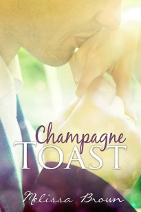 Champagne Toast by Melissa Brown