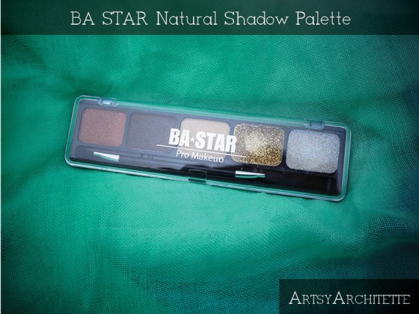 ArtsyArchitette BA STAR Natural Shadow Palette Review