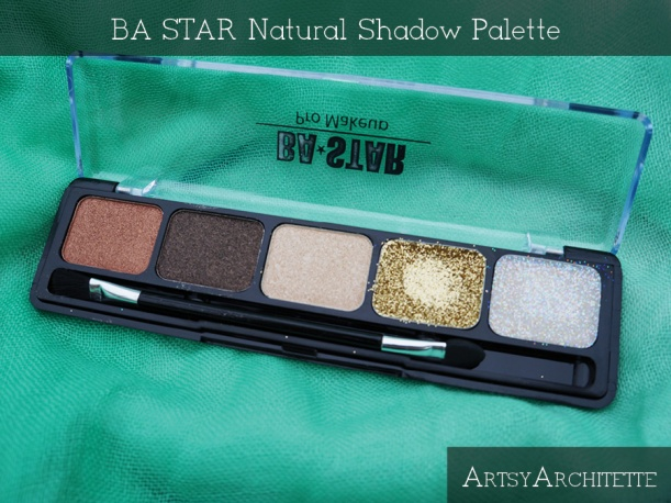 ArtsyArchitette BA STAR Natural Shadow Palette Review2