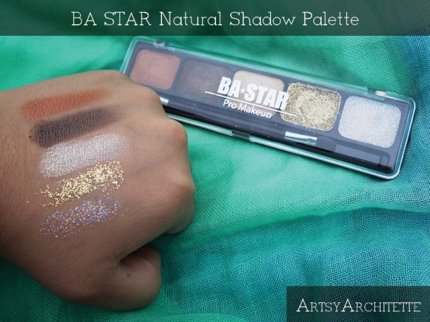 ArtsyArchitette BA STAR Natural Shadow Palette Review3